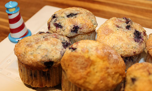 Blueberry Muffin Kendall Tavern Inn BB   Freeport Maine